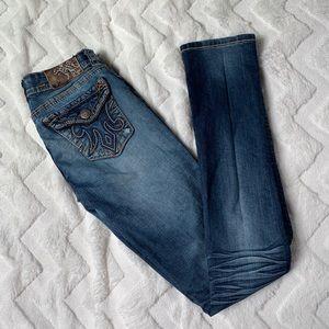 MEK Denim Dark Skinny Jeans